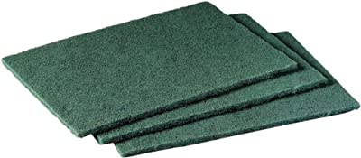 "Scotch-Brite 96-20 General Purpose Scouring Pad, 9"" Length x 6"" Width (Case of 20)"