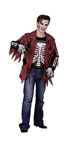 Most Popular Halloween Costumes Google (Adult Halloween Adult Trashed Costume Onesize (Onesize Red, Red))