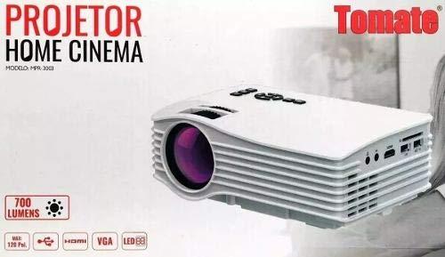 Projetor Led Full Hd 1080p Cinema Original Tomate Mpr-3003
