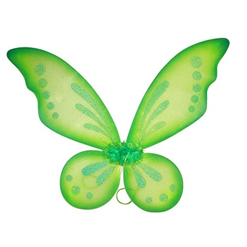 Dushi Butterfly Fairy Wings Dress up Wings Birthday Party Favor Accessory Halloween Costume -
