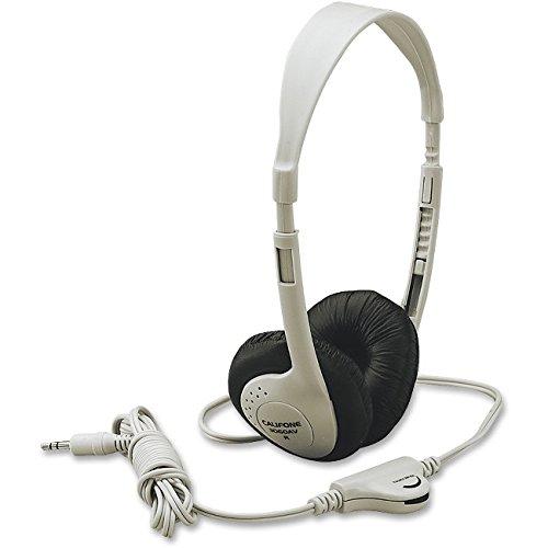 Multimedia Stereo Headphones - 3060AV Multimedia Stereo Headphones w/ Volume Control