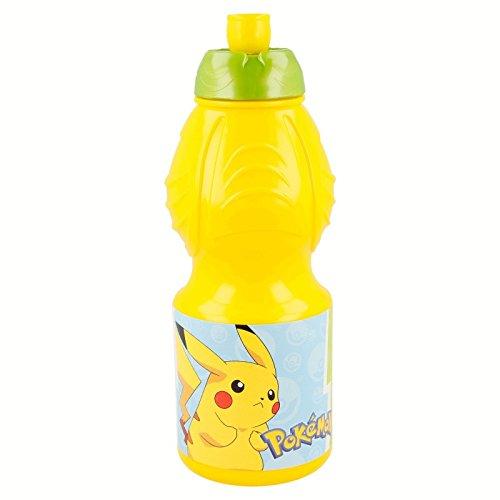 Pokémon Bottiglia Borraccia Sport plastico 400ml, Stor (06832)