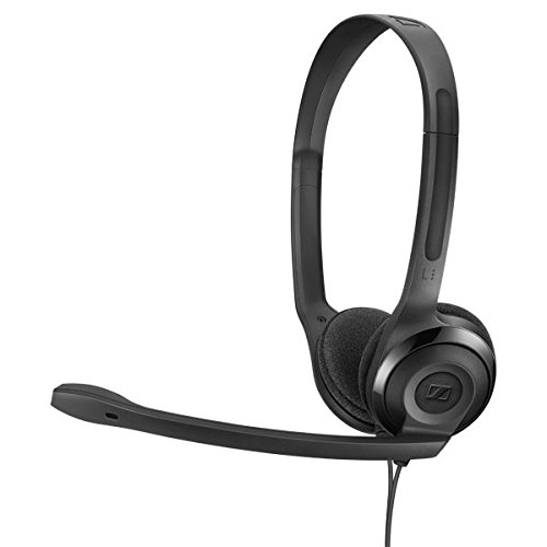 Sennheiser PC 5 Chat - Headset for Internet Communication, E-Learning and Gaming - Sennheiser Gaming Adapter Headsets