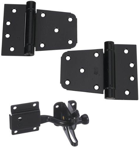 National Hardware N343-475 Self-Closing Gate Kit, 0, Black