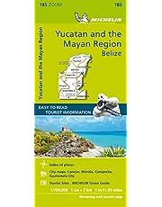 Michelin ZOOM Yucatan & Mayan Peninsula Map 185