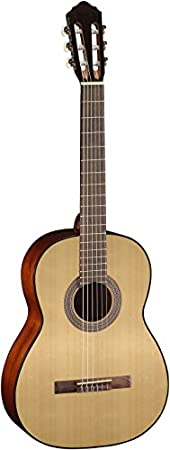 Cort AC100OP Classical Guitar, Natural Open Pore Guitars & Gear at amazon