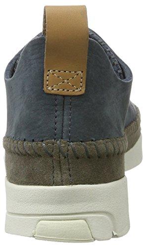 Low Sneakers Nubuck ardesia Originals da Flex Blue Clarks donna Trigenic qYZAtzB