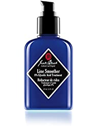 JACK BLACK - Line Smoother 8% Glycolic Acid Treatment - PureScience Formula, Fast-Acting, Smooths Skin, Helps Reduce Appearance of Wrinkles, Oil-Free Treatment, Helps Improves Skin Tone, 3.3 oz.