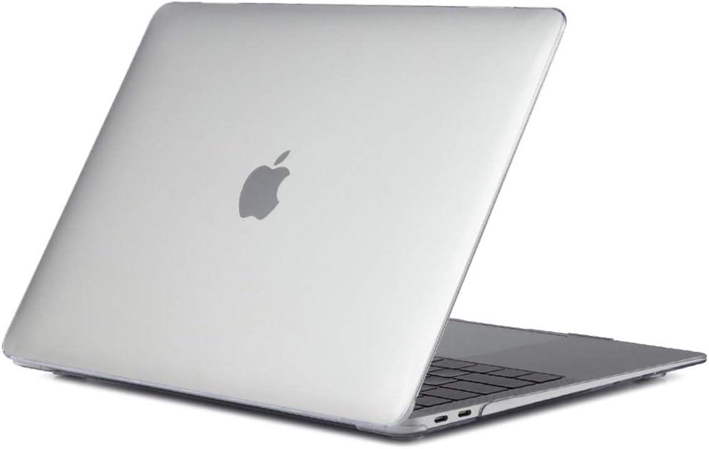 Funda Dura Ultra Delgada con Panel Transparente para 2018 MacBook Air 13 con Pantalla Retina Transparente ProCase Carcasa R/ígida para MacBook Air 13 2018 A1932