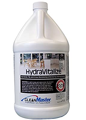 CleanMaster 950-792-B HydraVitalize - Acid Stone, Tile, Grout Revitalizing and Renewing Cleaning Solution, 1 gal (Pack of 4)