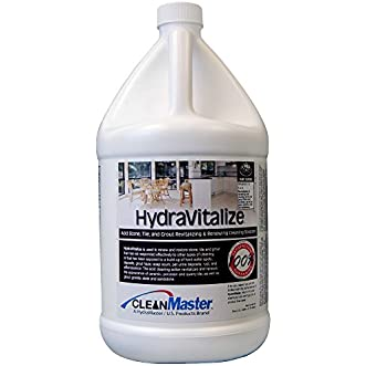 HydraVitalize - Acid Stone, Tile, Grout Revitalizing and Renewing Cleaning Solution, 1 gal (Pack of 4) - CleanMaster 950-792-B