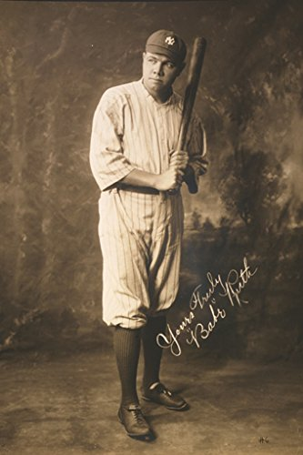 Hot Babe Poster - BABE RUTH POSTER Early Years RARE HOT NEW 24x36