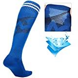 Luwint Kids Long Soccer Socks, Cotton Over Calf