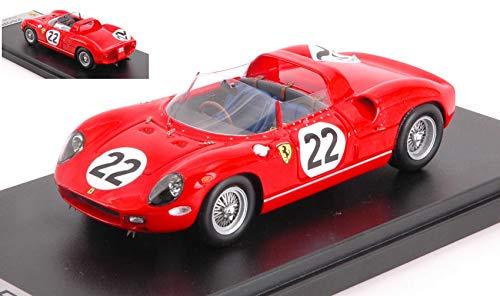 FERRARI 250P N.22 3rd 24h LE MANS 1963 M.PARKES-U.MAGLIOLI 1 43 - Looksmart - Auto Competizione - Die Cast - Modellino