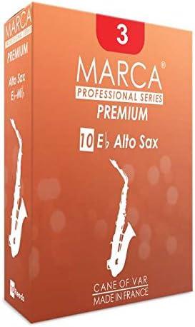 Marca PR440 - Lengüeta para saxofón alto (dureza 4, pack de 10): Amazon.es: Instrumentos musicales