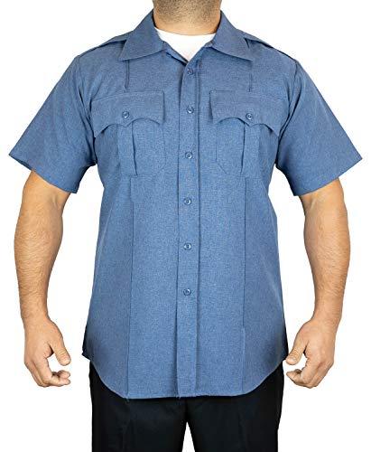 First Class Short-Sleeve Uniform Shirt 1XL French Blue
