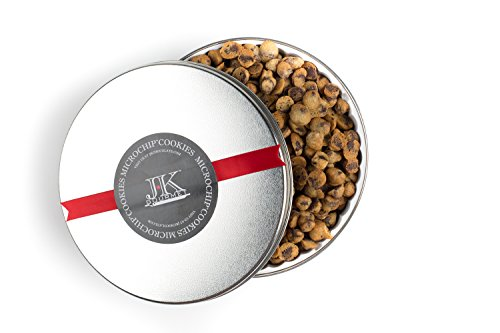 The World's Tiniest, Most Irresistible Chocolate Chip Cookies - Be The Party Favorite & Give The Gift Of Gourmet Microchips - 11oz Fresh Mini Cookies In Premium Tin - Small (Calories In A Fortune Cookie)
