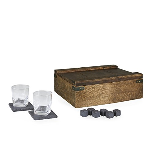 LEGACY - a Picnic Time Brand Whiskey Box Gift Set with Service for Two by LEGACY - a Picnic Time Brand (Image #3)