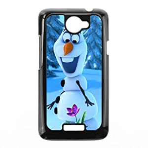 HTC One X Cell Phone Case Black Frozen YR102821