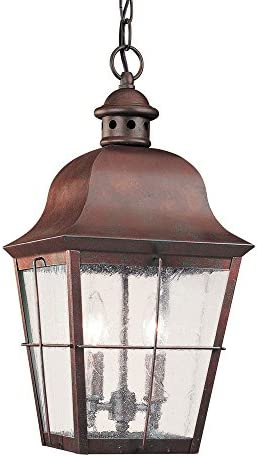 Sea Gull Lighting 6062-44 Chatham Traditional Two Light Outdoor Pendant Hanging Modern Oustide Fixture