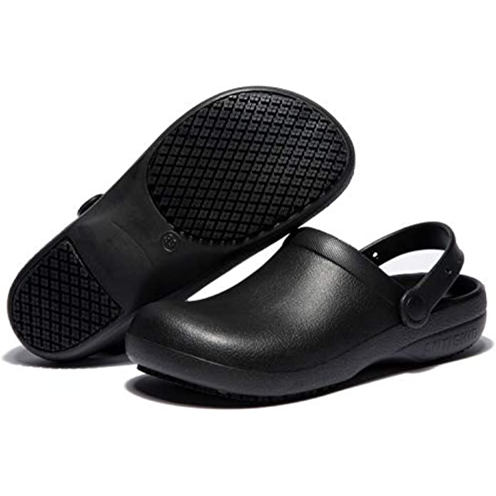 COMSHOE Unisex Classic Clog Comfort Slip On Casual Shoe for Chef,Nurseing,Gardening,Oil,Water