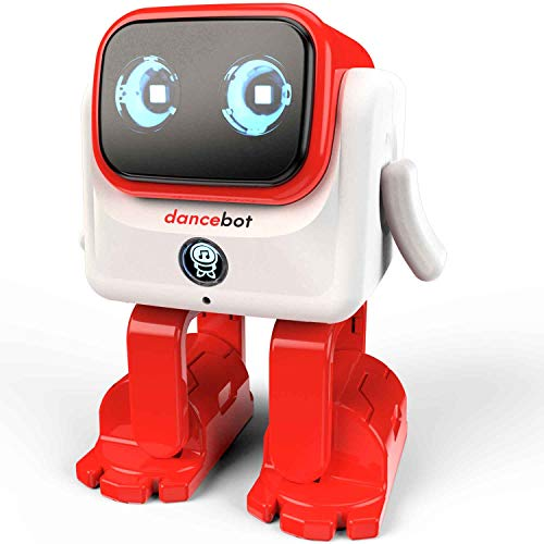 Echeers Kids Toys Dancing Robot for Boys and Girls, Educational Dancing Robot Toys for Kids with Stereo Bluetooth Speakers, Rechargeable Dance Robot Follow Music Beats Rhythm, All Age Children - Red by ECHEERS (Image #3)