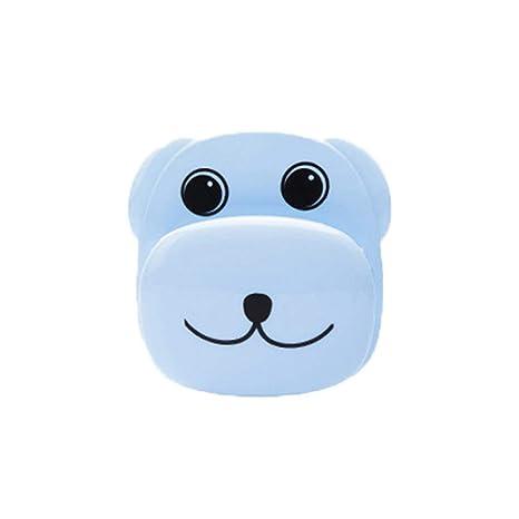 SEGRJ: Soporte para Cepillo de Dientes de baño con diseño de Perro de Dibujos Animados