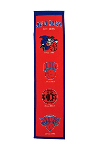Winning Streak Sports NBA New York Knicks Heritage Banner