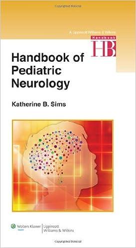 Handbook of pediatric neurology 9781451175486 medicine health handbook of pediatric neurology 1st edition fandeluxe Choice Image