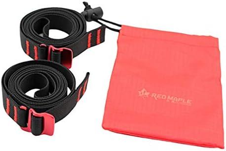 Perfeclan 荷物ストラップ 貨物輸送 荷物落下防止 固定ロープ 荷締めベルト 150x2cm タイダウンストラップ ポーチ付 2個