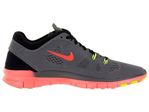 ... Nike Femmes Libres 5.0 Tr Ajustement 5 Prt Chaussures De Formation  Femmes Nous Gris Foncé /