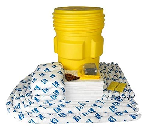 Brady 95 gal Drum SPC Yellow Polypropylene Spill Kit ()