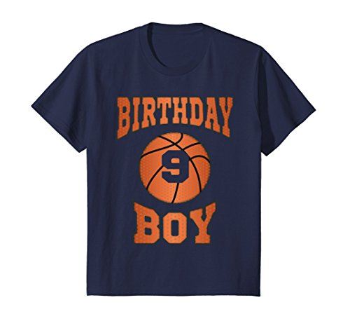 Kids 9th Birthday Shirt Boy