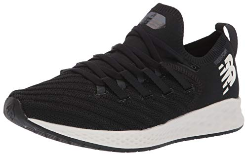 New Balance Women's Mens Zante V1 Trainer Fresh Foam Cross, Black/orca/sea Salt, 6 D US