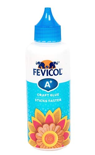 Pidilite Fevicol A+ Craft Glue for Events, Decorations & Craft Projects (85g)