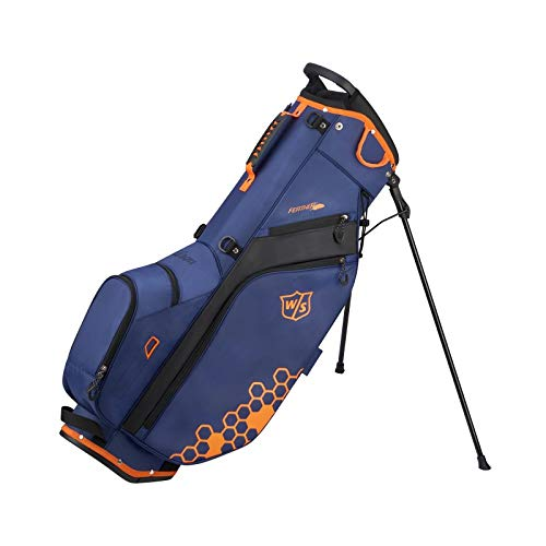 Wilson Staff Feather Carry Golf Bag, Blue by Wilson (Image #1)