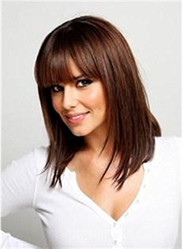 5I Long Straight Dirty Blonde Hair Bob Wigs Heat Resistant Wig Cosplay for Women Natural Looking Wig + 1 Free Wig Cap (Sexy Wig)