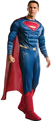 Rubie's Men's Superman Adult Deluxe Costume, As As Shown, Standard]()