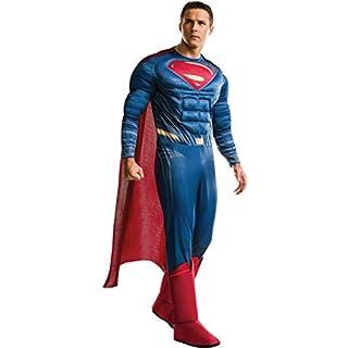 Rubie's Men's Superman Adult Deluxe Costume, As Shown, Standard