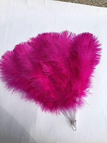 90*50cm Large Burlesque Dance feather fan Bridal Bouquet