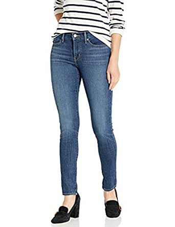 Levi's Womens 311 Shaping Skinny Jeans Jeans - Blue - 24 Short
