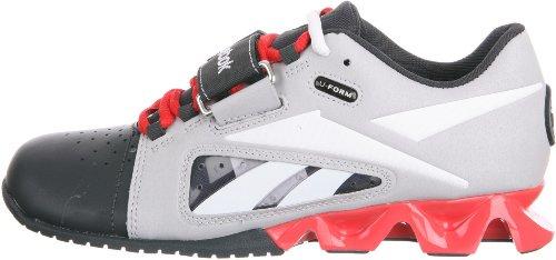 Zapato Reebok Crossfit R Formación Lifter Steel White Gravel Geranium
