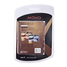 Movo Photo Color/White Balance Card Set for Digital Photography (Index card sized, 5 X 4\