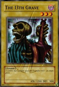 Yu-Gi-Oh! - The 13th Grave LOB-14 Unlimited Edition - 2002 Legend of Blue Eyes White Dragon