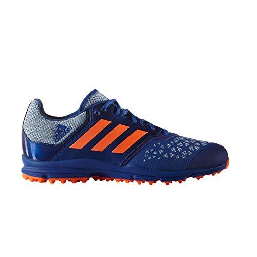 Adidas Original Mens Zona Dox Campo Hockey Scarpa Collegiata Royal / Solar Orange / Shock Blue