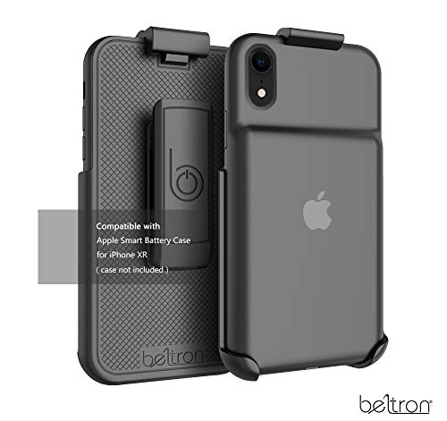Belt Clip Holster Compatible with Apple Smart Battery Case (for iPhone XR) - Smart Case NOT Included