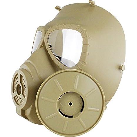 haoYk táctico Dummy anti niebla máscara de gas M04 con Turbo ventilador Airsoft paintbal protección Gear (DE): Amazon.es: Deportes y aire libre