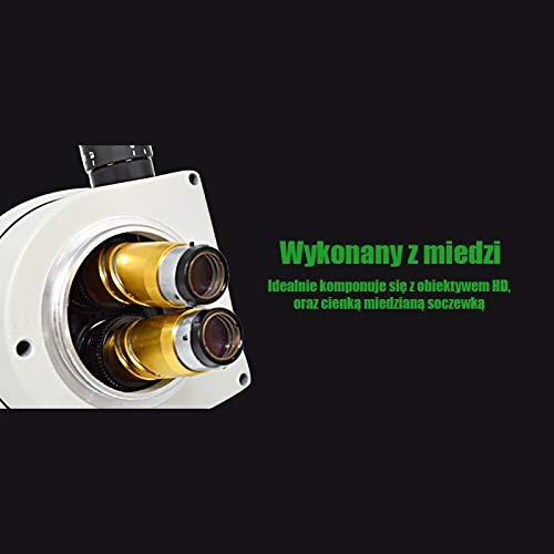 TECHREBAL microscópico trinocular 10HW 7-45X para electrónica ...