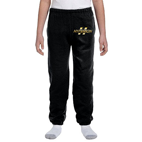 Price comparison product image Borderlands Hyperion Gold Logo Youth Cotton Sweatpants Large