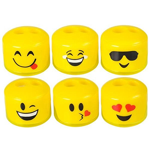 1.5'' EMOTICON SHARPENER, Case of 24
